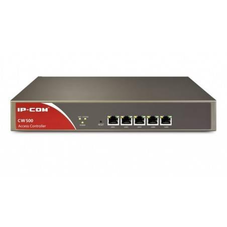IP-COM CW500 Access Controller สำหรับบริหารจัดการ Centralized Management AP ของ IP-COM ได้ 32 ชุด 5 Port Gigabit