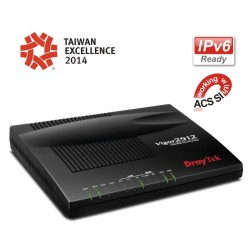 DrayTek Vigor2912 Dual WAN Load-balance VPN Router รวม Internet 2 คู่สาย VPN 16 Tunnels, 3G USB