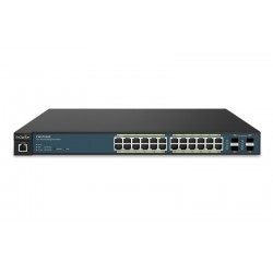 EnGenius EWS7928P Neutron Managed L2 Gigabit POE Switch ขนาด 24 Port จ่ายไฟสูงสุด 185W