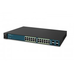 EnGenius EWS7928P Neutron Managed L2 Gigabit POE Switch ขนาด 24 Port จ่ายไฟสูงสุด 185W Switches เชื่อมเครือข่ายแบบสาย
