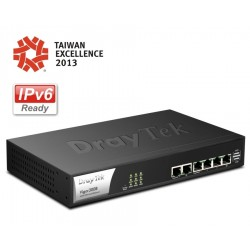 DrayTek Vigor2960 Dual WAN Load-balance VPN Router รวม Internet 2 คู่สาย VPN 200 Tunnels, 80,000 Session LoadBalance/ VPN Rou...