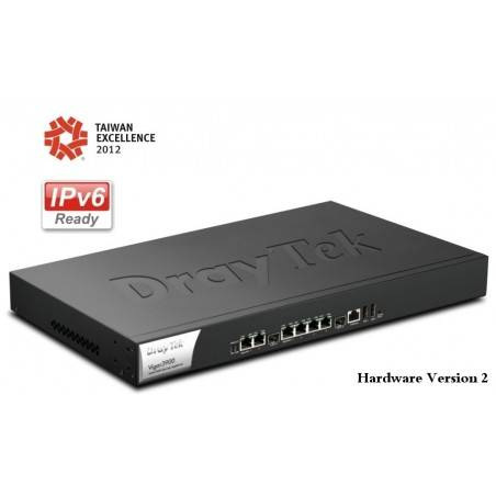 DrayTek Vigor3900 5 Wan Load-balance VPN Router รวม Internet 5 คู่สาย NAT 100,000 Session