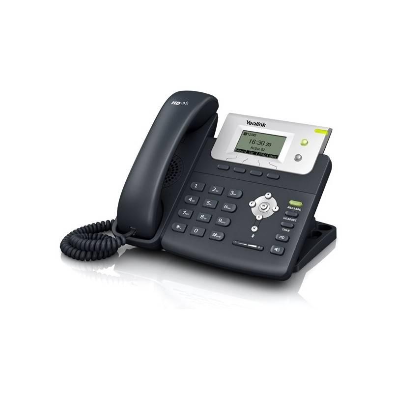 Yealink SIP-T21P-E2 โทรศัพท์แบบ IP (IP-Phone) จอ LCD 132x64 รองรับ 2 SIP Account, HD Voice รองรับ POE