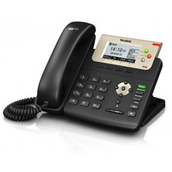 Yealink SIP-T23G โทรศัพท์แบบ IP (IP-Phone) จอ LCD รองรับ 3 SIP Account, HD Voice , Port Gigabit รองรับ POE