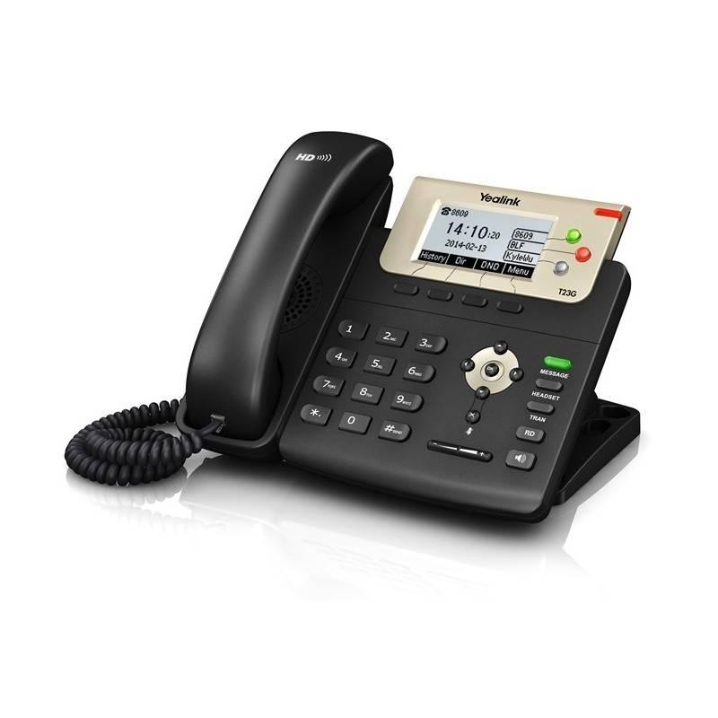 Yealink VOIP / IP-PBX (ระบบโทรศัพท์แบบ IP) Yealink SIP-T23G โทรศัพท์แบบ IP (IP-Phone) จอ LCD รองรับ 3 SIP Account, HD Voice ,...