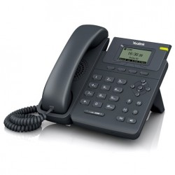 Yealink SIP-T19P-E2 โทรศัพท์แบบ IP (IP-Phone) จอ LCD รองรับ 1 SIP Account พร้อม Adapter รองรับ POE ราคาประหยัด