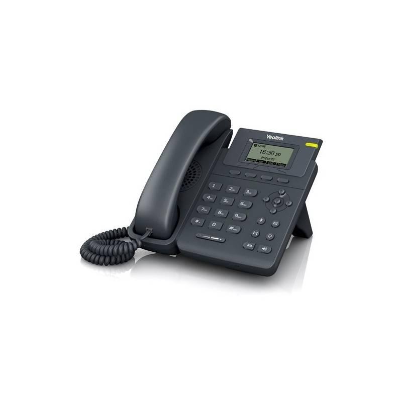 Yealink SIP-T19P-E2 โทรศัพท์แบบ IP (IP-Phone) จอ LCD รองรับ 1 SIP Account พร้อม Adapter รองรับ POE ราคาประหยัด VOIP / IP-PBX ...