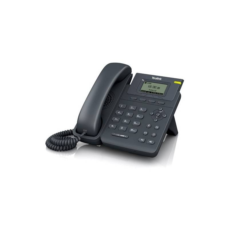 Yealink VOIP / IP-PBX (ระบบโทรศัพท์แบบ IP) Yealink SIP-T19P-E2 โทรศัพท์แบบ IP (IP-Phone) จอ LCD รองรับ 1 SIP Account พร้อม Ad...