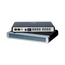 Grandstream GXW-4108 อุปกรณ์ FXO IP Analog Gateway ขนาด 8-Port FXO, 2 Port Lan, T.38 Fax Over IP, QoS VOIP / IP-PBX ระบบโทรศั...