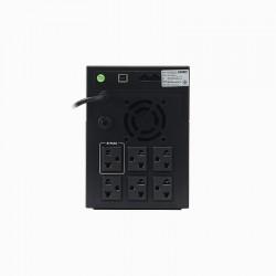 Syndome Syndome ATOM1000-LCD เครื่องสำรองไฟ UPS ขนาด 1000VA 600Watt แบบมี LCD Display