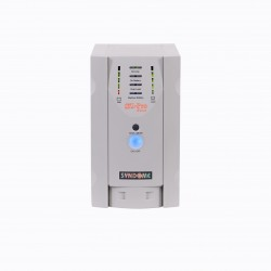 Syndome UPS เครื่องสำรองไฟ เครื่องสำรองไฟ UPS Syndome SZ-501 Pro ขนาด 500VA 400Watt พร้อมระบบปรับแรงดันไฟฟ้าอัตโนมัติ (AVR)