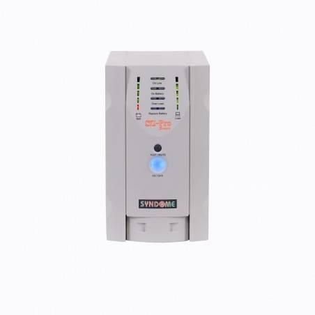 เครื่องสำรองไฟ UPS Syndome SZ-1001 Pro ขนาด 1000VA 800Watt พร้อมระบบปรับแรงดันไฟฟ้าอัตโนมัติ (AVR)