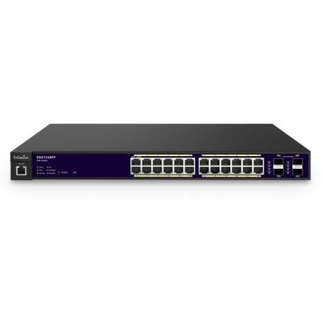 Engenius EGS7228FP L2-Manage POE Gigabit Switch 24 Port จ่ายไฟ POE 802.3af/at 370W, 4xSFP รองรับ VLAN, QOS