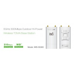 WisNetworks WIS-S5300 Wireless Access Point ความถี่ 5GHz ความเร็ว 300Mbps 500mW Port Gigabit