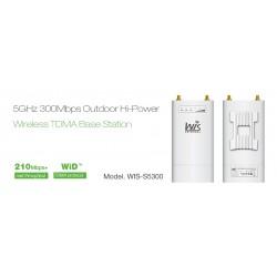 WisNetworks WIS-S5300 Wireless Access Point ความถี่ 5GHz ความเร็ว 300Mbps 500mW Port Gigabit Wireless AccessPoint (กระจายสัญญ...