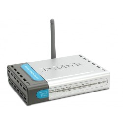 D-Link DSL-2640T - 54Mbps (802.11g) Wireless ADSL 2/2+ Router with Built-in Modem, 4-port 10/100Mbps Switch