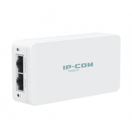 IP-COM PSE30G-AT อุปกรณ์ฝากไฟไปกับสาย Lan Power Over Ethernet (POE) รองรับมาตรฐาน 802.3at/af ความเร็ว Gigabit