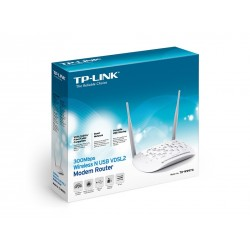 TP-Link TD-W9970 VDSL2/ ADSL Modem Router ความถี่ 2.4Ghz ความเร็ว 300Mbps 4 Port Lan Router/ Firewall/ VPN/ Loadbalance