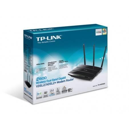 TP-Link TD-W9980 Dual-Band VDSL2/ ADSL Modem Router 2.4/5Ghz รองรับ Print Server