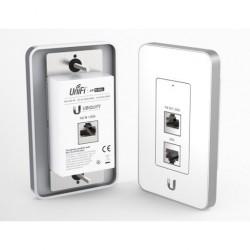 Ubiquiti Ubiquiti (ยูบิคิวตี้) Ubiquiti UniFi UAP-IW In-Wall Wifi Access Point แบบติดผนัง ความถี่ 2.4GHz พร้อม 3 Port Lan
