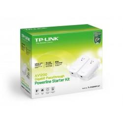 TP-Link TL-PA8010 Kit อุปกรณ์ Powerline Adapter เชื่อมเครือข่าย Network ผ่านสายไฟฟ้าในบ้าน ระยะไกลสุด 300 เมตร PowerLine Adapter