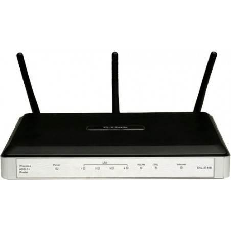 D-Link DSL-2740B - 300 Mbps RangeBooster N™ ADSL2+ Modem Router