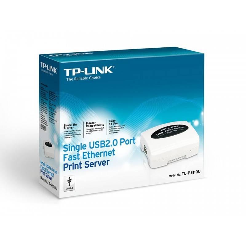 TP-Link TL-PS110U Print Server แบบ USB Port รองรับ Printer มากกว่า 230 รุ่น ติดตั้งง่าย TP-Link (ทีพี-ลิ้งค์)