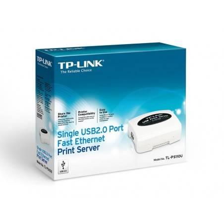 TP-Link TL-PS110U Print Server แบบ USB Port รองรับ Printer มากกว่า 230 รุ่น ติดตั้งง่าย