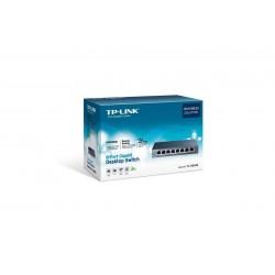 TP-LINK TL-SG108 Gigabit Switch แบบ Desktop ขนาด 8 port ความเร็ว Gigabit เคสเหล็ก Switches เชื่อมเครือข่ายแบบสาย