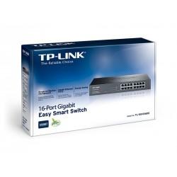 TP-LINK TL-SG1016DE Easy Smart Gigabit Switch แบบ Rackmount 16 port ความเร็ว Gigabit รองรับ VLAN Switches เชื่อมเครือข่ายแบบสาย