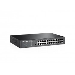 TP-LINK TL-SG1024DE Easy Smart Gigabit Switch แบบ Rackmount 24 port ความเร็ว Gigabit รองรับ VLAN