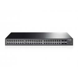 TP-Link Gigabit Ethernet 1000Mbps TP-LINK TL-SG2452 48-Port Gigabit Smart Switch with 4 SFP Slots รองรับการทำงานแบบ L2 Switches