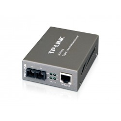 TP-Link TP-Link (ทีพี-ลิ้งค์) TP-Link MC210CS Gigabit Single-Mode Media Converter แปลงสัญญาณ UTP เป็น Fiber หัวต่อ SC ระยะ 15Km