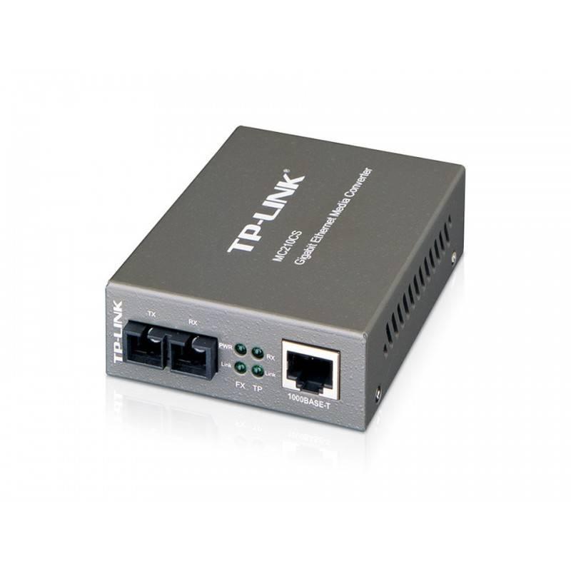 TP-Link MC210CS Gigabit Single-Mode Media Converter แปลงสัญญาณ UTP เป็น Fiber หัวต่อ SC ระยะ 15Km