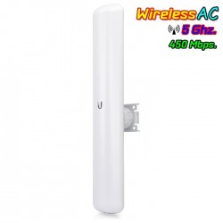Ubiquiti Wireless AccessPoint (กระจายสัญญาณ WIFI) Ubiquiti LiteBeam AC LBE-5AC-16-120 Access Point AC 5GHz เสา 25dBi สัญญาณ 1...