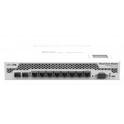 Mikrotik CCR1009-8G-1S-1S+PC Cloud Core Router CPU 9Core 1GHz Ram 2GB, 8 Port Giagbit, 1 Port SFP+ Router Level6 (Unlimit)