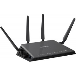 NetGear NetGear (เน็ตเกียร์) NetGear R7800 Nighthawk X4S Smart WiFi Gaming Router มาตรฐาน AC 2.53Gbps Dual-Band 4 Port Gigabi...