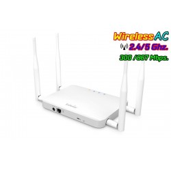 EnGenius ECB1200 Access Point มาตรฐาน AC Dual Band ความถี่ 2.4/5GHz ความเร็วสูงสุด 1200 Mbps Port Gigabit