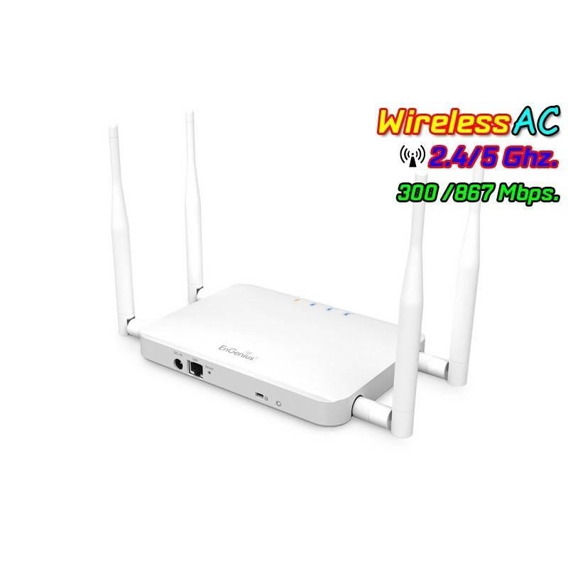 EnGenius Wireless AccessPoint (กระจายสัญญาณ Wireless) EnGenius ECB1200 Access Point มาตรฐาน AC Dual Band ความถี่ 2.4/5GHz ควา...