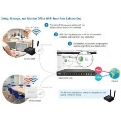 Peplink Balance One (BPL-ONE) LoadBalance Dual-Wan VPN Router Wireless AC, Throughput 600Mbps PEPVPN 2 Tunnel Peplink (เป๊ปลิ...