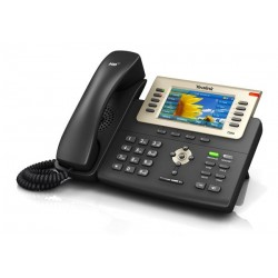 Yealink SIP-T29G โทรศัพท์แบบ IP (IP-Phone) จอ LCD รองรับ 16 SIP Account, HD Voice 2 Port Gigabit รองรับ POE
