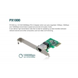 TOTOLINK PX1000 Gigabit PCI Express Network Adapter การ์ดแลนความเร็ว 1000Mbps Slot แบบ PCI-E Adapter