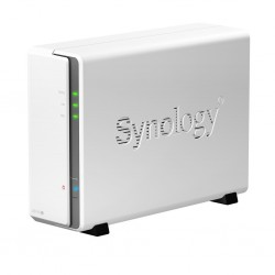 Synology Synology DS115J Network Attatch Storage ขนาด 1Bay สูงสุด 8TB รองรับ Media Streaming, iTune Server, Load Bit
