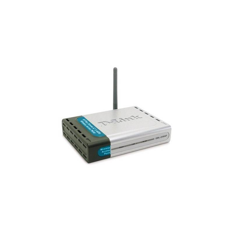 Home D-Link DWL-2100AP - 2.4GHz (802.11g) Wireless Access Point 108/54 Mbps