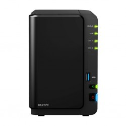 Synology DS216+II Network Attatch Storage ขนาด 2Bay สูงสุด 16TB ( 2 x 8TB) รองรับ Media Streaming, iTune Server, Load Bit