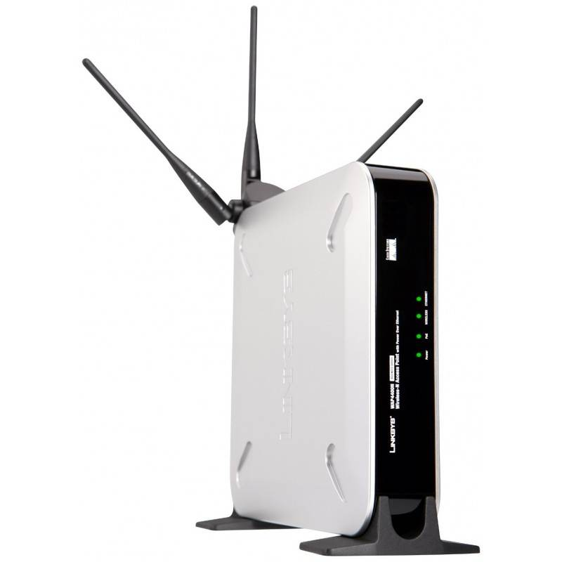 Linksys WAP4400N Wireless-N Access Point with PoE