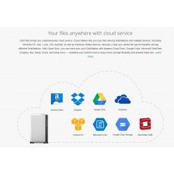 Synology DS216SE Network Attatch Storage ขนาด 2Bay สูงสุด 12TB (2 x 6TB) รองรับ Media Streaming, iTune Server, Load Bit อุปกร...