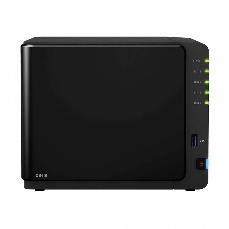 Synology DS416 Network Attatch Storage ขนาด 4Bay สูงสุด 40TB รองรับ Media Streaming, iTune Server, Load Bit อุปกรณ์จัดเก็บข้อ...