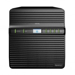 Synology DS416J Network Attatch Storage ขนาด 4Bay สูงสุด 40TB รองรับ Media Streaming, iTune Server, Load Bit