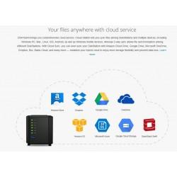 Synology Synology DS416slim Network Attatch Storage ขนาด 4Bay สูงสุด 40TB รองรับ Media Streaming, iTune Server, Load Bit